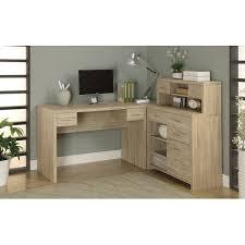 latitude run milford l shaped computer desk with hutch u0026 reviews