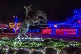 10 holiday light displays in georgia
