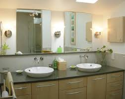 attractive black bathroom cabinet with variety storage and