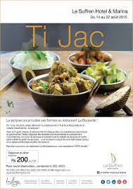 hote pour cuisine ti jac at le suffren hotel mauritius restaurants
