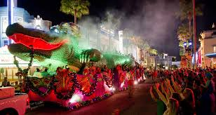 mardi gra floats universal mardi gras passholders can sign up for bead duty