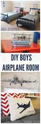 Ideas For Boys Bedrooms by Best 10 Boys Airplane Bedroom Ideas On Pinterest Airplane