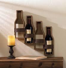 cascading bottles wine holder u2013 just deco