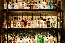 the gin bar at holborn dining room near covent garden in london