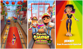 subway surfers for android apk free subway surfers san francisco mod apk free