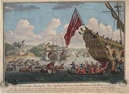 siege pour siege of louisbourg 1745
