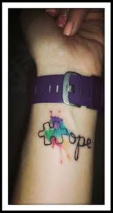 respect differences autism tattoos and tattoo designs
