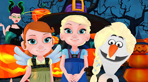 frozen junior halloween party 2017 young elsa u0026 anna episode