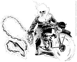 Rider Coloring Pages