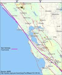 san francisco fault map stan deyo s earthquake warning
