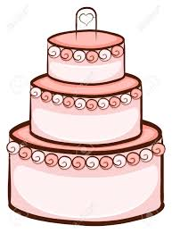 wedding cake drawing illustration of a simple drawing of a wedding cake on a white