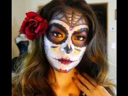 i am so excite to share this dia de los muertos sugar skull makeup tutorial with you all it is perfect for and i used mostly p