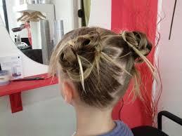 coiffure mariage enfant coupe tendance merlevenez morbihan chignon mariage coiffure mariee