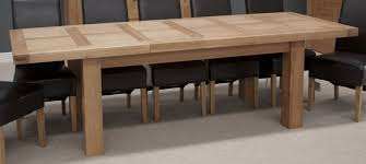 Light Oak Dining Room Sets Oak Extendable Dining Table Ebizby Design