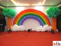 arch decoration pixel media groups chennai balloon arch and label design