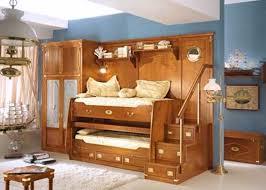 Space Saver Loft Bed Furniture Twin Beds With Desk Bedroom Teak - Space saving bedrooms modern design ideas