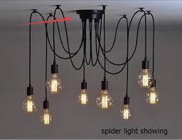 Pendant Light Canopy Retro Chandelier Pendant Light Ceiling Base With 6 8 10 12 Heads
