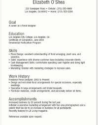 resume examples floral designer resume ixiplay free resume samples