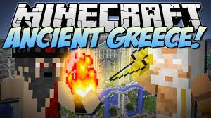 minecraft ancient greece battle with the gods mod showcase