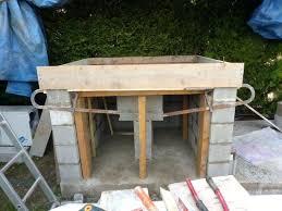 cuisine d ete en beton cellulaire plan de travail exterieur beton awesome bien cuisine d ete en beton