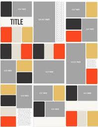 grid layout for 8 5 x 11 free digital scrapbooking template scrapbooking pinterest