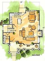 Lake Cottage Floor Plans Living Large In A Small House Small House Floor Plans Smallest