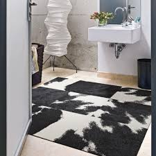 cow rug tiles from flor a