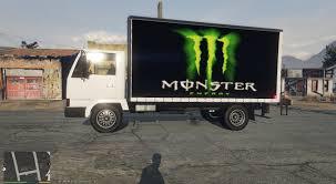 monster energy truck van pack gta5 mods