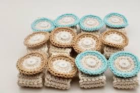 home decor crocheted napkin rings bonita rose