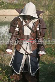 Edward Kenway Halloween Costume Assassin U0027s Creed Iv Black Flag Edward Kenway Pirate Cloak
