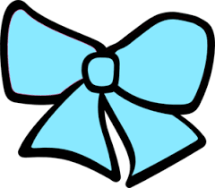 blue bows cheer bow cliparts free clip free clip on