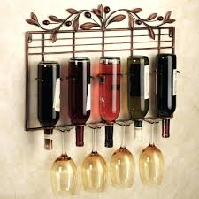 Bakers Rack With Wine Glass Holder Wine Racks Plans Shelf With Wine Glass Holder Wine Glass Rack Wine