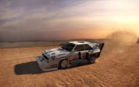 audi rally dirt rally audi with glowing brakes on pikes peak