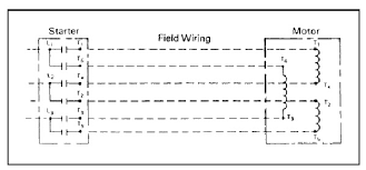 wye u2013 delta motor starter wiring basic tutorials electrical