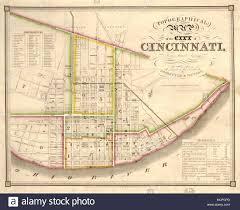 Map Cincinnati Vintage Map Of Cincinnati Stock Photos U0026 Vintage Map Of Cincinnati