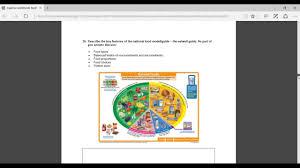 vtct l3 pt nutrition worksheet youtube