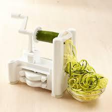 paderno cuisine spiral vegetable slicer paderno spiralizer 3 blade williams sonoma