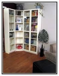 Ikea Billy Bookcase Door Billy Bookcases Can Even Wrap Around A Corner Space Living