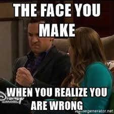How To Make Your Own Meme - boy meets world meme realize you are wrong on bingememe