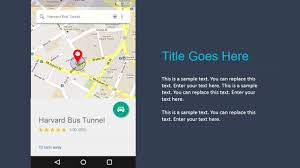 Here Maps Android Google Maps Powerpoint Ui Materials Toolkit Slidemodel