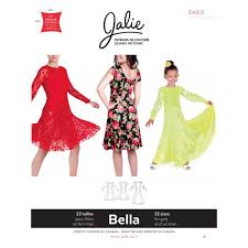 dress pattern fit and flare bella fit and flare dress jalie sewing pattern 3460 sew essential