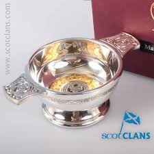 Donald Macdonald by Macdonald Clan Crest Quaich Clan Donald Macdonald Products