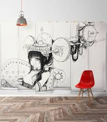 glamorous wall mural paintings bedroom pics decoration ideas tikspor