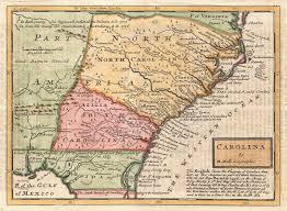 Cofc Map Thomas Newe U0027s Understanding Of Early Carolina