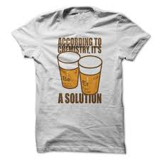 jeep beer shirt to chemistry alcohol is a solution t shirt