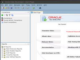 tutorial oracle data modeler accessing the oracle database from linux