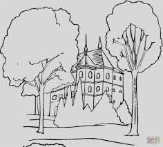 casa disegno disegni da colorare casa con giardin disegni paesaggi da colorare