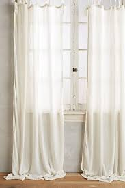 Tie Top Curtains White Curtains Drapes Window Treatments Anthropologie