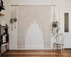 wedding backdrop melbourne macrame wedding arch hire the middle aisle