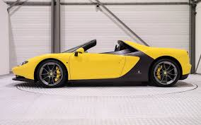 ferrari yellow and black rare ferrari sergio is up grabs but do you have 5 million to